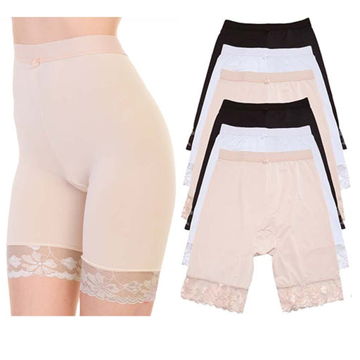1 Women Tummy Control High Waist Shorts Underwear Pants Ladies Leggings Panty L