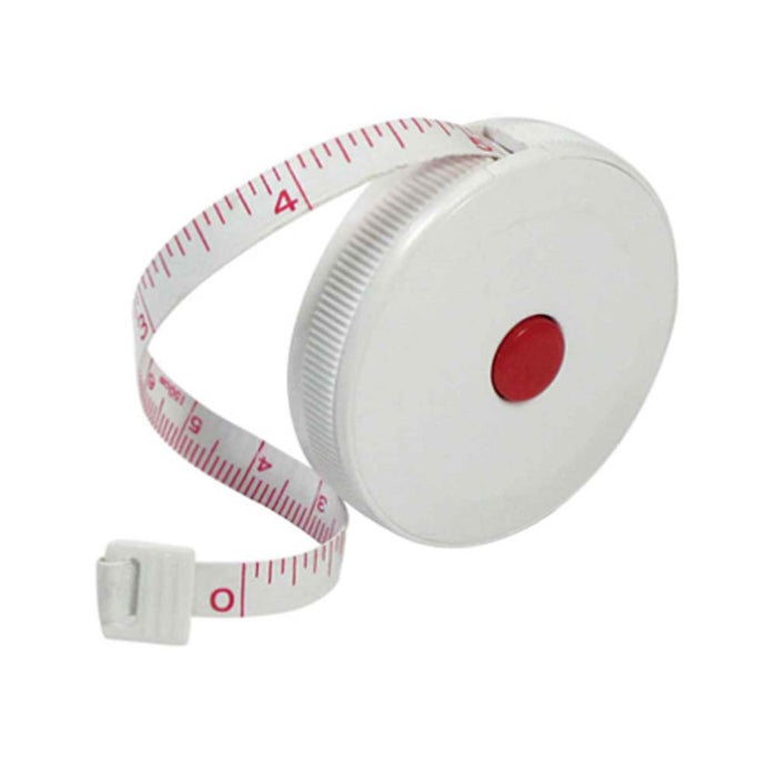 "1Pc Measuring Retract Tape Ruler 60"" English Metric Tool Measure Sewing Tailor"