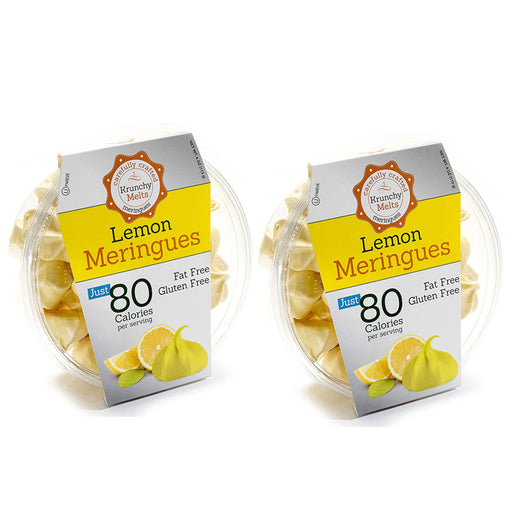 2 Boxes Lemon Meringues Cookies Gluten Fat Sugar Free Kosher Sweets Snacks Treat