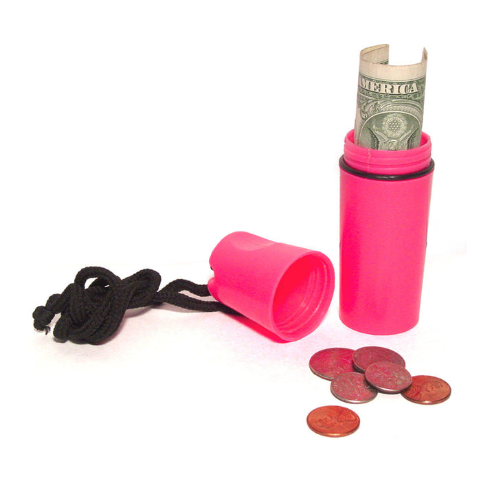 Plastic Waterproof Storage Case Money Coin Holder Container Cover Beach Safe New