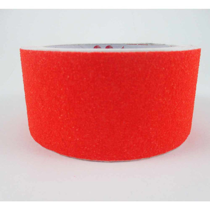 12 Ft Red Yellow Roll Safety Non Skid Tape Anti Slip Tape Sticker Grip Safe Grit