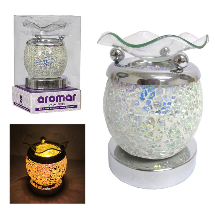 Electric Oil Warmer Wax Burner Scent Air Diffuser Aroma Therapy Fragrance Lamp