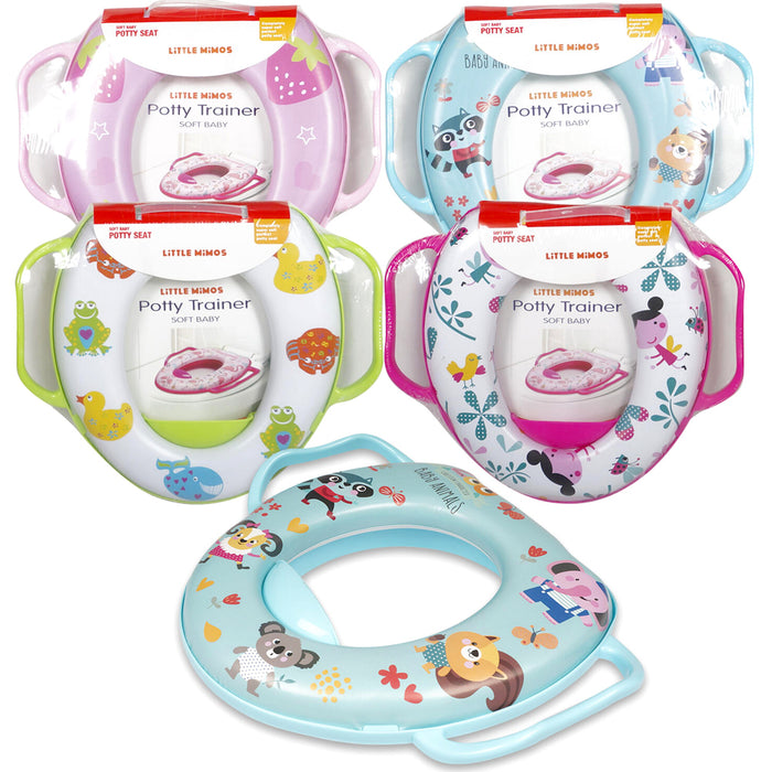 1 Cute Baby Toilet Seat Soft Padded Cushion Cover Potty Training Toddler Cushion