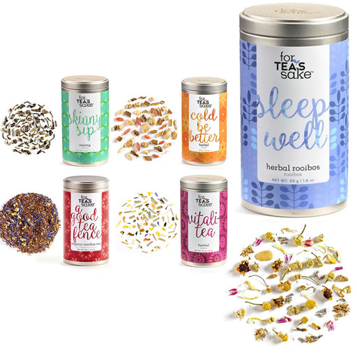 5x Rooibos Tea Oolong Loose Leaf 9oz Premium Herbal Blend Non-GMO Sleep Flavors
