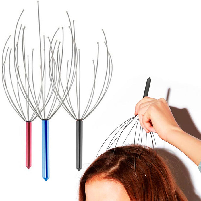 10 Scalp Head Massager Scratcher Stress Relief Tool Acupressure Therapy Relax !!