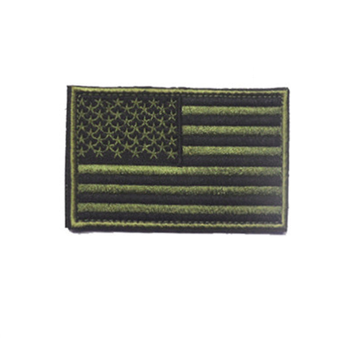 1 X USA AMERICAN FLAG TACTICAL US MORALE MILITARY SUBDUED APPLIQUE FASTEN PATCH