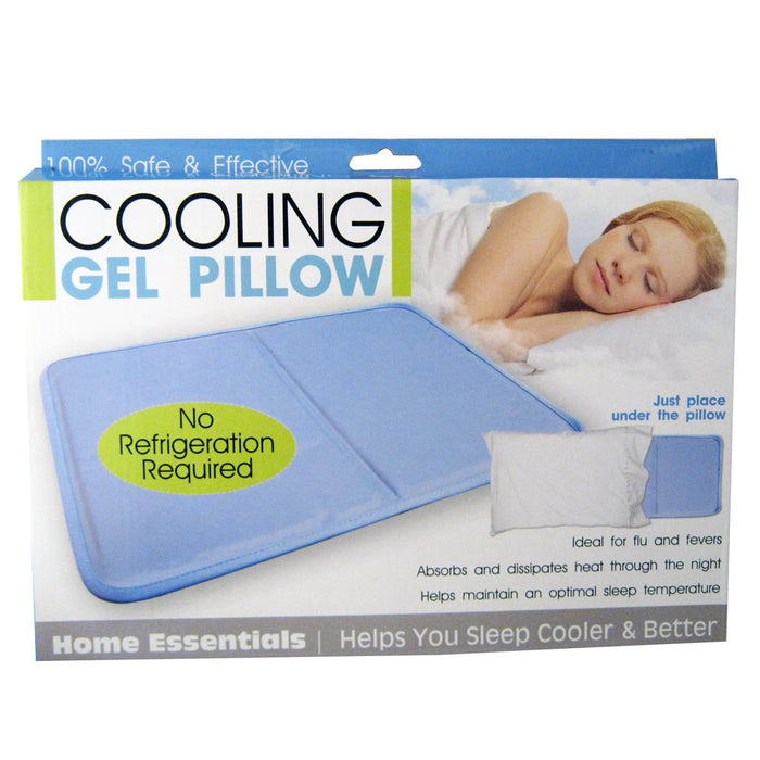 Cooling Gel Pillow Therapy Insert Sleeping Aid Pad Mat Muscle Relief Sleep Gift