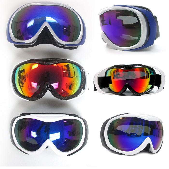 Adult Snowboard Ski Goggles Anti-Fog Double Lens Motocross Snow Skiing Sunglass