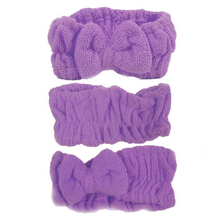 MicroFiber Shower Wash face Bath Spa Hair Wrap Make-up Headband Hairband Bath !