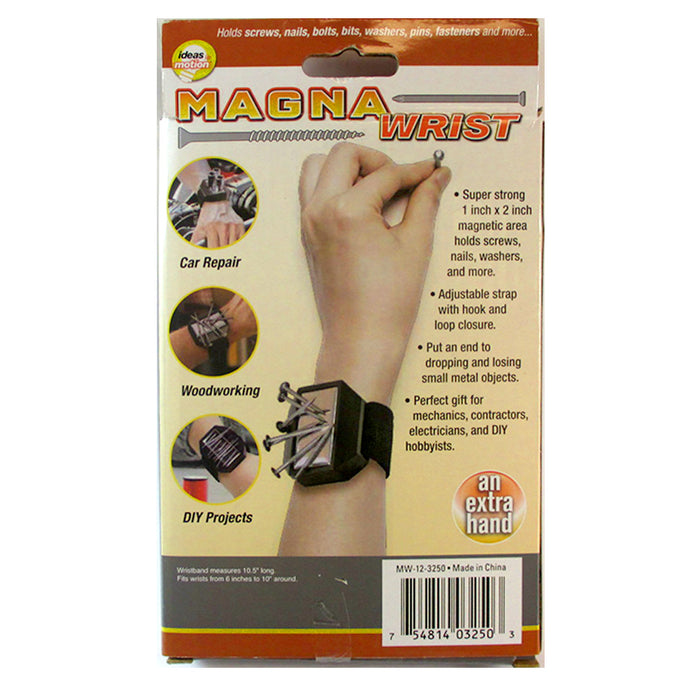 Magnetic Wristband Tool Holder Strong Magnets Holds Screws Nail Bits Bolts Gift
