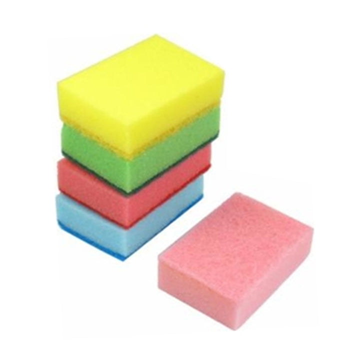 40 Sponge Scouring Pads Kitchen Dishes Cleaner Scour Scrub Cleanning Wholesale !