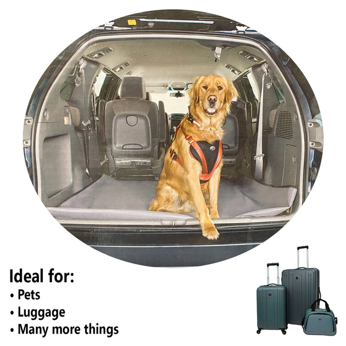 Universal Trunk Floor Liner Mat Cargo Car SUV's Waterproof Cover Protector Fit