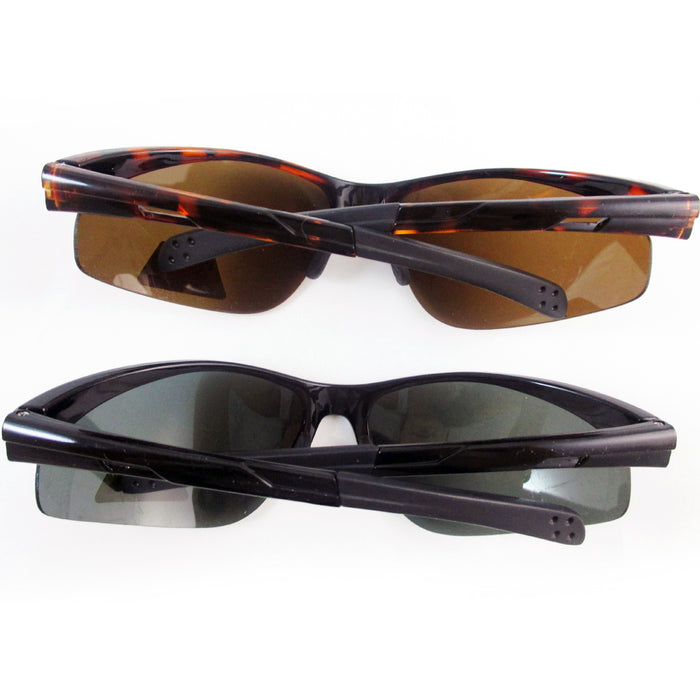 Mens Polarized Sunglasses Driving Glasses Night Vision Sports Fishing UV Eyewear