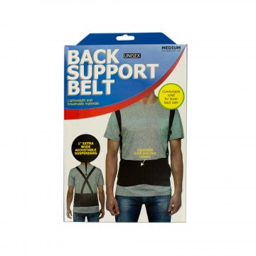Posture Corrector Lumbar Lower Back Support Brace Belt Adjustable Unisex Medium