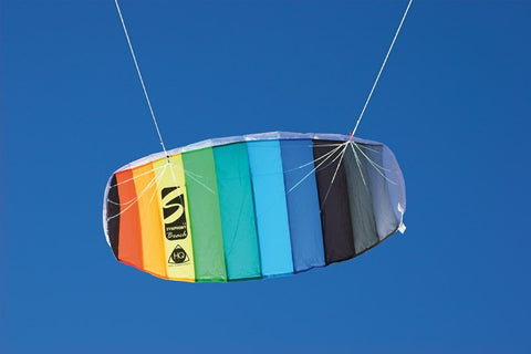 HQ TRAINER POWER KITE 1.3 WITH CONTROL BAR SYMPHONY METERS CONTROL KITEBOARDING
