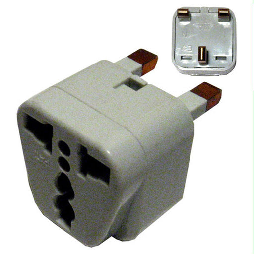 New Universal Travel Socket Wall Plug Power AC Adapter Converter EU US AU to UK