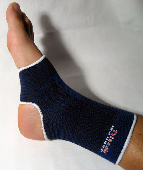 2 Ankle Brace Support Elastic Compression Sleeve Sports Therapy Foot Pain Relief