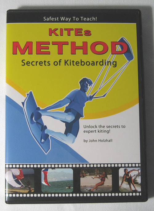 DVD SECRETS OF KITEBOARDING KITE KITESURF KITESURFING OUTDOOR SPORTS LEARN FUN !