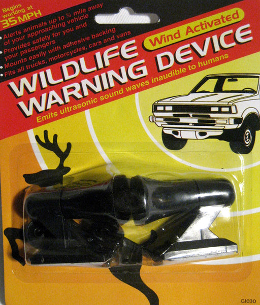 2 Deer Warning Whistle Animal Sonic Alert Device Car Safety Wildfire Camping New