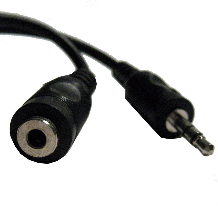 25 FT Stereo Headphone Extension Cable 3.5mm Audio Jack