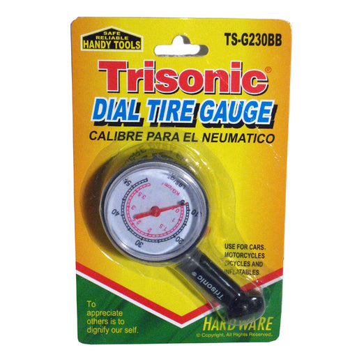 Truck Auto Vehicle Car Tyre Tire Air Pressure Gauge10-50 PSI Tester Dial Meter !