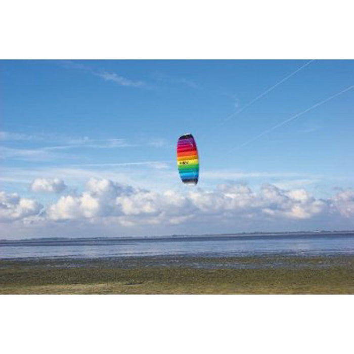 NEW HQ TRAINER POWER KITE 1.7 W/ CONTROL BAR SYMPHONY LINE BEACH SPORTS TRAINER