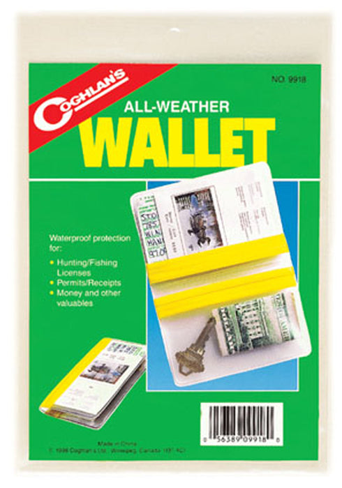 Waterproof Pouch Wallet All Weather Protection Dry Bag Case Id Holder Coghlan/'s