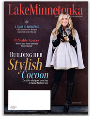 Elizabeth Geisler's Cocoon designs highlighted in Lake Minnetonka Magazine