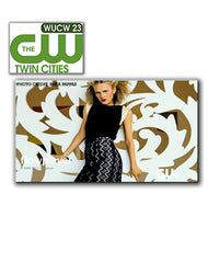 WUCW23 TV featuring women's styles including designs by Elizabeth Geisler