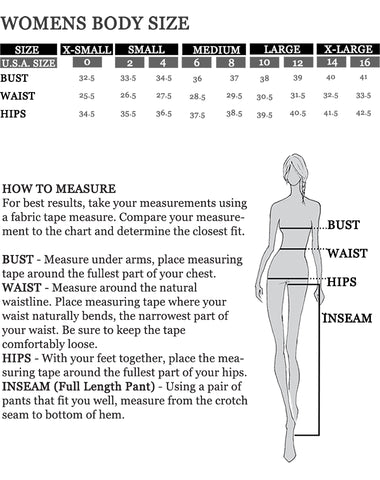 Sizing guide for Cocoon by Elizabeth Geisler