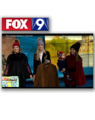 Fox9 news feature about local holiday market