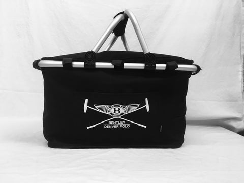 Black Bentley Denver Polo Cooled Picnic Basket