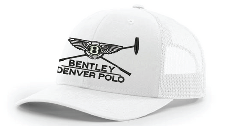 White Bentley Denver Polo Hat