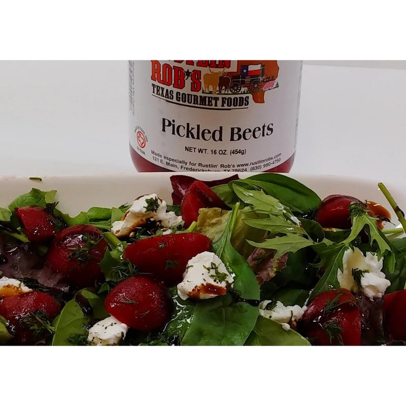 Pickled Beets 16oz by Rustlin' Rob's