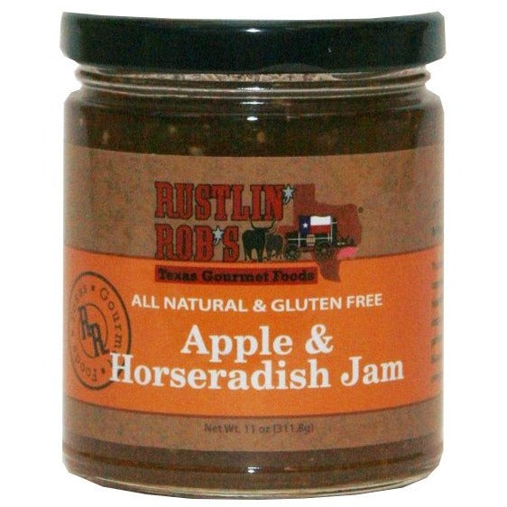 Apple & Horseradish Jam by Rustlin' Rob's 11oz