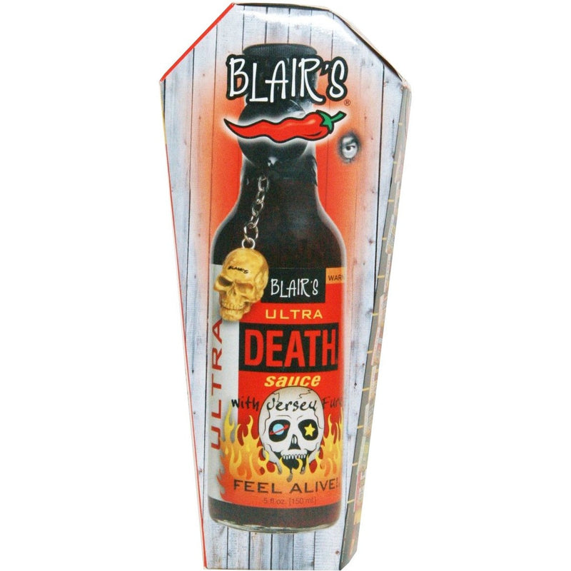Blair's Ultra Death Hot Sauce w/Key Chain 5oz