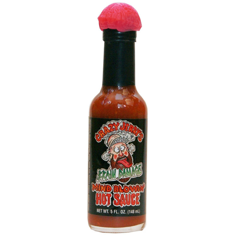 Brain Damage Hot Sauce 5oz.