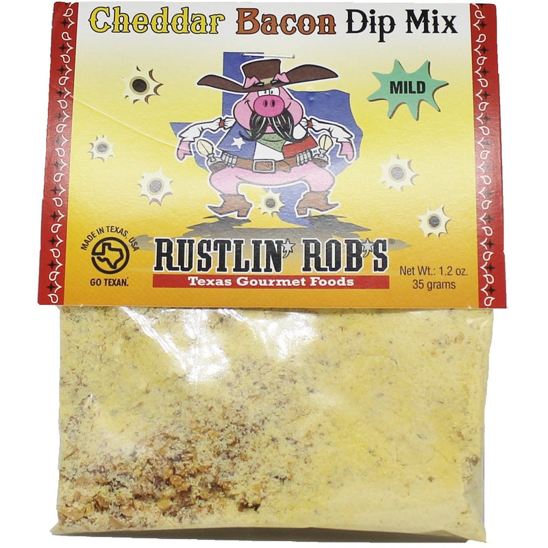 Rustlin' Rob's Cheddar Bacon Dip Mix 1.5oz