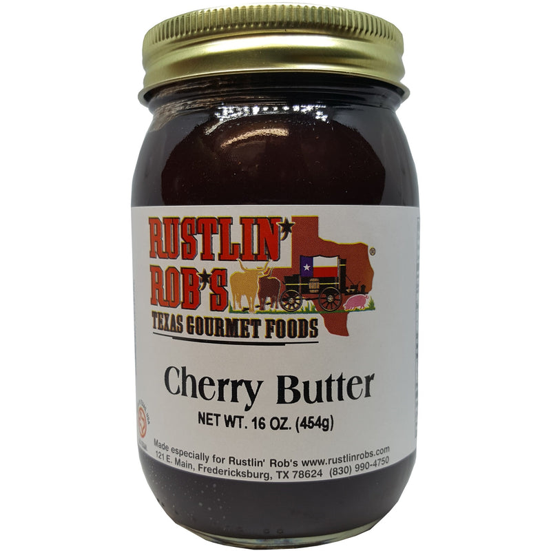 Cherry Butter 16oz. by Rustlin' Rob's