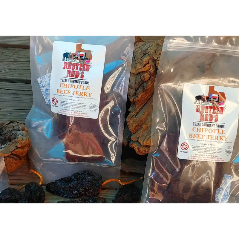 Chipotle Beef Jerky by Rustlin' Rob's