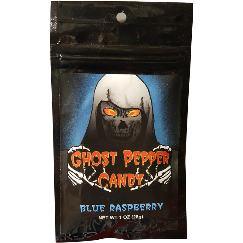 Ghost Pepper Candy Blue Raspberry 1 oz.