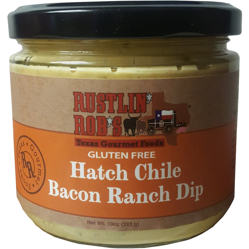 Hatch Chile Bacon Ranch Dip by Rustlin' Rob's 13 oz
