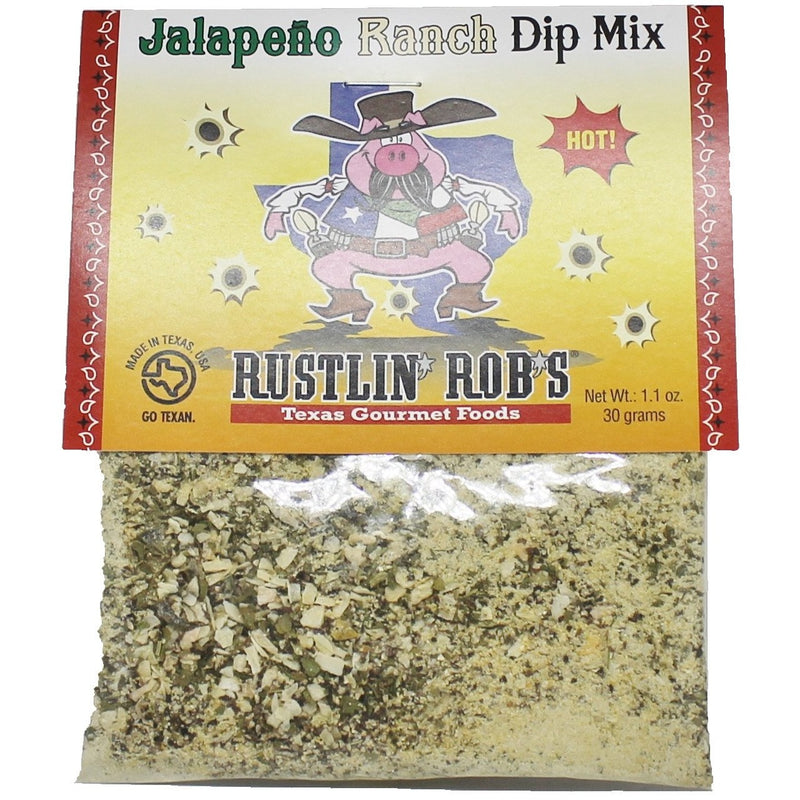 Rustlin' Rob's Jalapeno Ranch Dip Mix