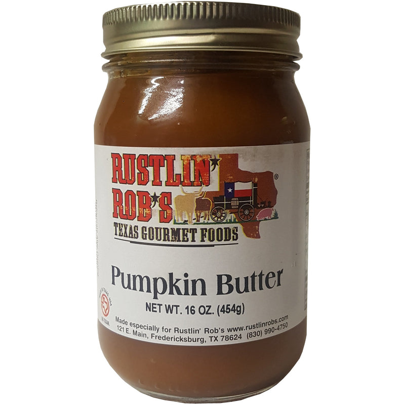 Pumpkin Butter 16oz. by Rustlin' Rob's