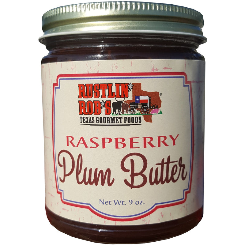Raspberry Plum Butter 8oz by Rustlin' Rob's