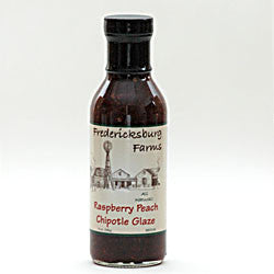Raspberry Peach Chipotle Glaze 14oz by Fredericksburg Farms