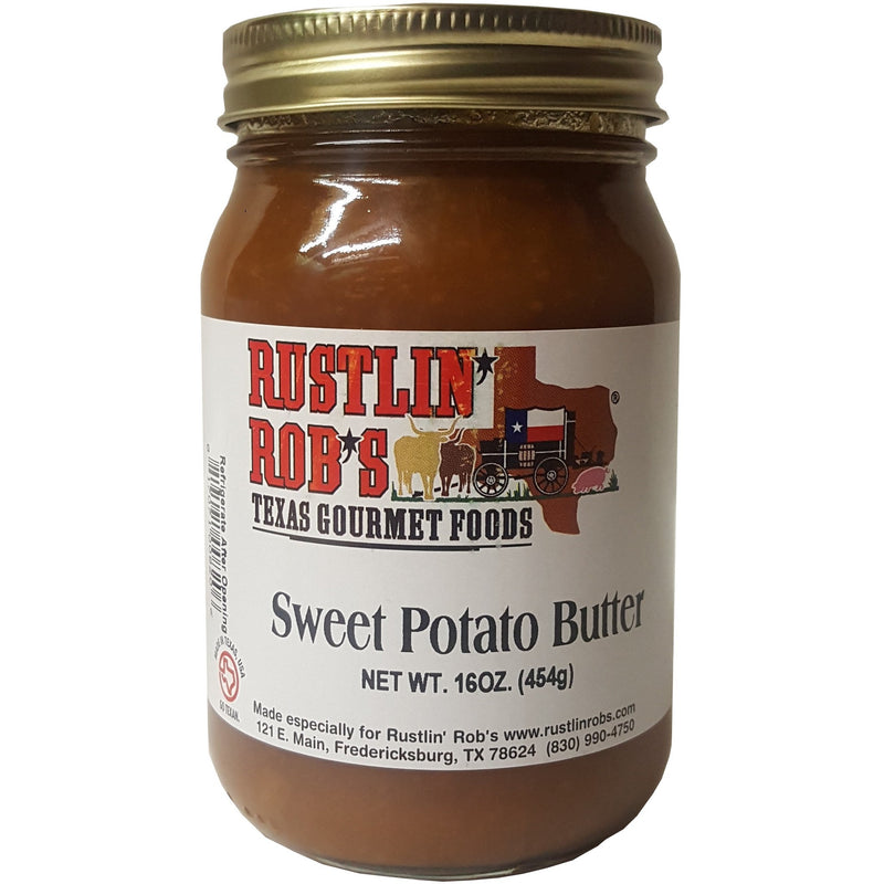 Sweet Potato Butter 16oz. by Rustlin' Rob's