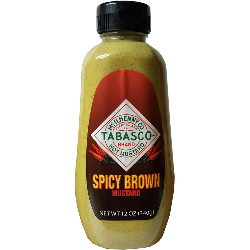 Spicy Brown Mustard by Tabasco 12oz