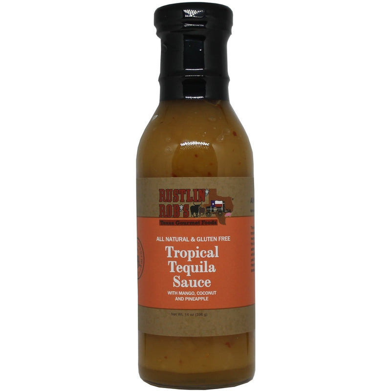 Tropical Tequila Sauce by Rustlin' Rob's 14oz