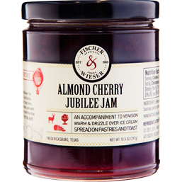Almond Cherry Jubilee Preserves 10.9oz. by Fischer & Wieser